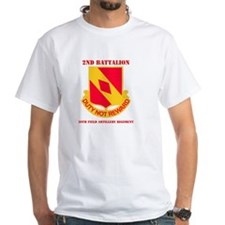 DUI - 2nd Bn - 20th FA Regt with Text Shirt