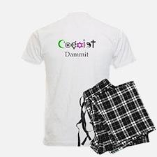 Coexist Dammit! Pajamas