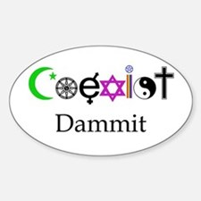 Coexist Dammit! Decal
