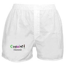 Coexist Dammit! 2 Boxer Shorts
