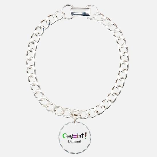 Coexist Dammit! 2 Bracelet