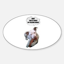 NOW THATS WHAT IM TALKING ABOUT PIT BULL Decal