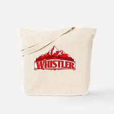 Whistler Red Mountain Tote Bag