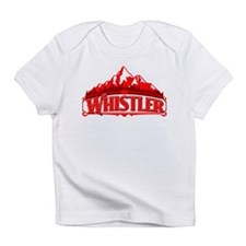Whistler Red Mountain Infant T-Shirt