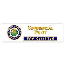 Commercial Pilot Bumper Sticker