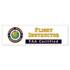 Flight Instructor Car Sticker