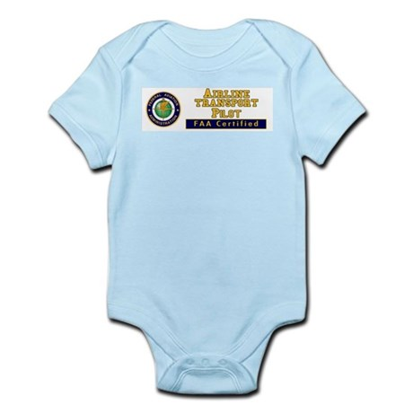 Airline Transport Pilot Infant Bodysuit