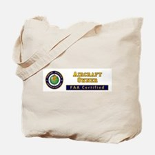 Aircraft Owner Tote Bag