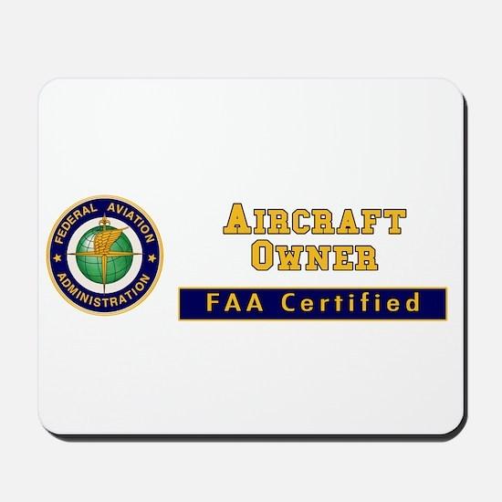 Aircraft Owner Mousepad