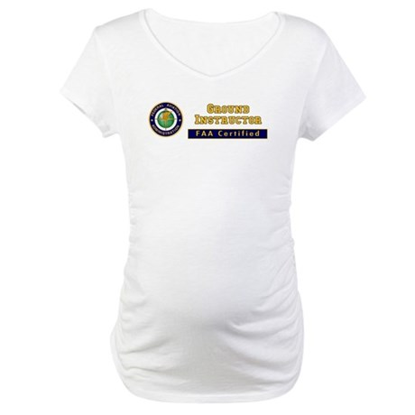 Ground Instructor Maternity T-Shirt