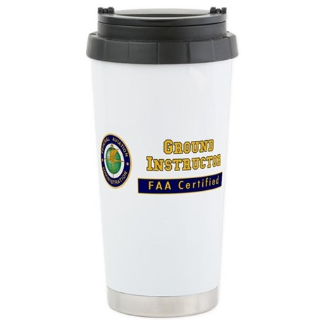 Ground Instructor Stainless Steel Travel Mug
