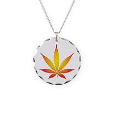 Glow Pot Leaf Necklace