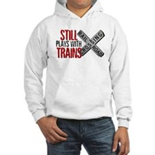 Still Plays With Trains Jumper Hoody