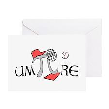 Funny um-Pi-re Greeting Card
