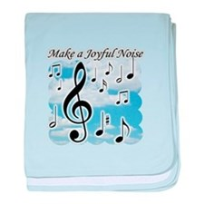 Cute American idol music baby blanket