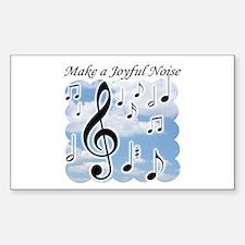 Make a joyful noise Decal