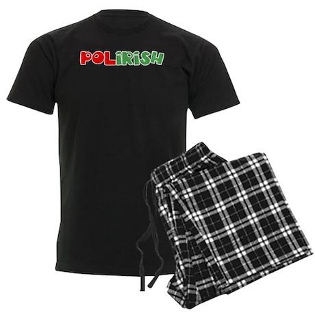 Polirish Men's Dark Pajamas