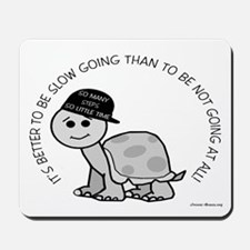 Slow Going Turtle Mousepad