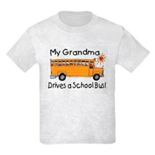 Grandma Drives a Bus - Kids T-Shirt
