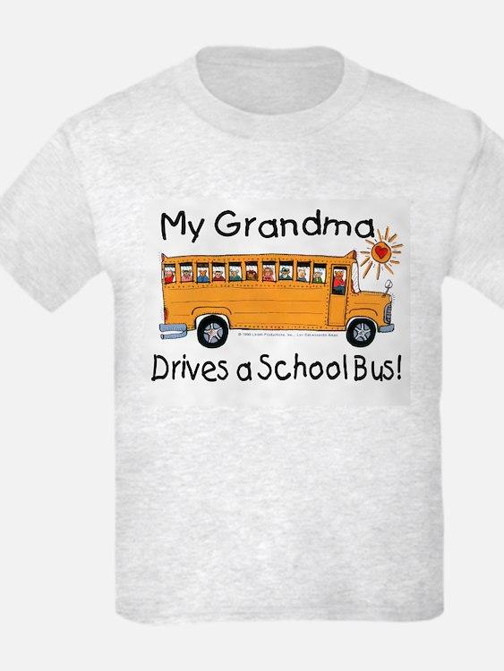Grandma Drives a Bus - Kids T-Shirt