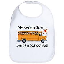 Grandpa Drives a Bus - Bib