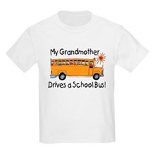 Grandmother Drives a Bus - Kids T-Shirt