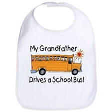 Grandfather Drives a Bus - Bib