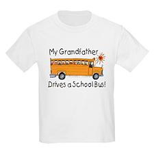 Grandfather Drives a Bus - Kids T-Shirt