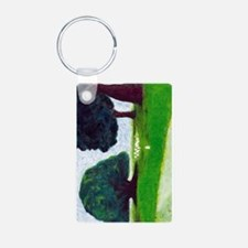 Cute Jb Aluminum Photo Keychain