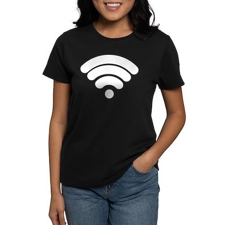 Wifi Women's Dark T-Shirt