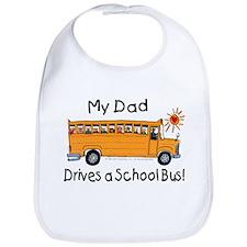 Dad Drives a Bus - Bib