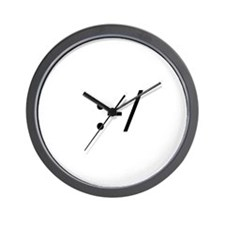 Skeptical Smilie Wall Clock