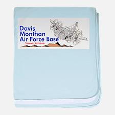 C-130 DMAFB baby blanket