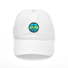 IMAGINE with PEACE SYMBOL Baseball Cap