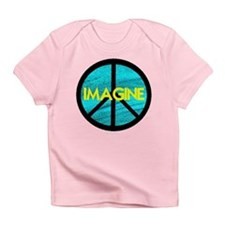 IMAGINE with PEACE SYMBOL Infant T-Shirt