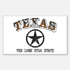 Lone Star State Sticker (Rectangle)