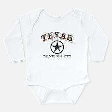 Lone Star State Long Sleeve Infant Bodysuit