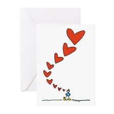 Thinking of Love Greeting Cards (Pk of 10)