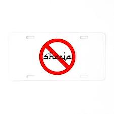 OPPOSE THIS Aluminum License Plate
