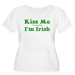 Kiss Me I'm Pretending I'm Ir T-Shirt