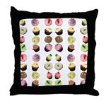 Cupcakes Throw Pillow
