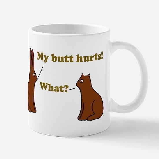 Chocolate Bunnies My Butt Hur Mug