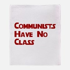 Communists Have No Class Shir Throw Blanket