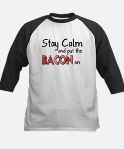 Keep Calm and Put the Bacon O Tee
