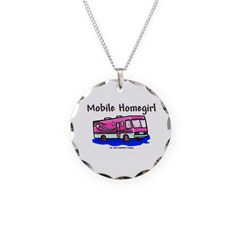 Mobile Home Girl Necklace