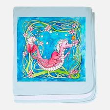 Sea Dragon's Quest baby blanket