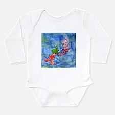 Turtle Mercat Long Sleeve Infant Bodysuit