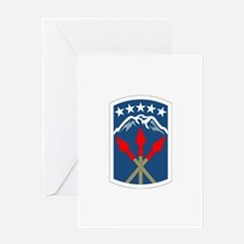 DUI - 593rd Bde - Special Troops Bn Greeting Card