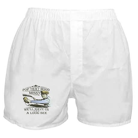 Pop that hood Missy! Boxer Shorts