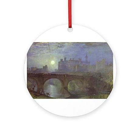 Alnwick Castle Ornament (Round)